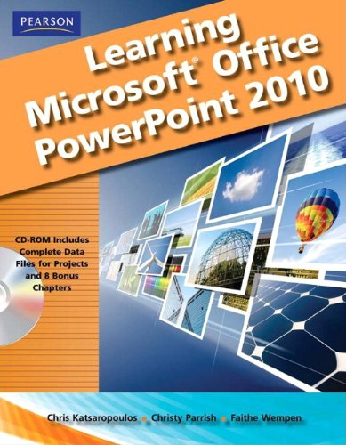 Learning Microsoft Office PowerPoint 2010, Student Edition (Student Office 2010 Edition)