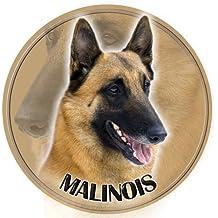LUKKA Malinois - Cane da Pastore Belga Adesivo 15 cm