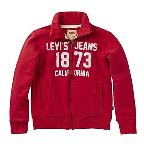 Levi's - Zipper Nos Zino - Cardigan unisex bébé, rouge (Red), 2 ans