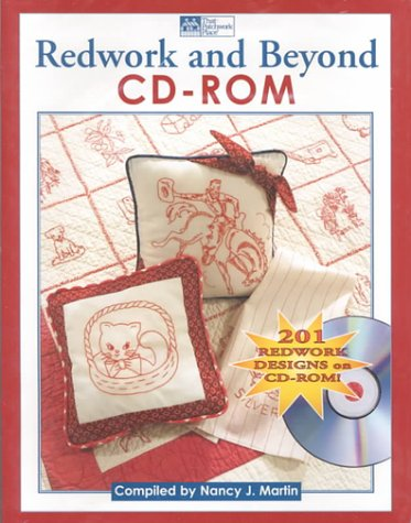 Redwork and Beyond Cd-Rom: 201 Redwork Designs - Redwork-design