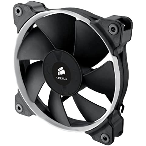 Corsair Air Series SP120 PWM Performance Edition CO-9050014-WW  Ventilador para caja de ordenador (120 mm, alto rendimiento, alta presión estática) , color negro (2