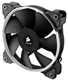 Corsair Air Series SP120 PWM Quiet Edition CO-9050012-WW Ventilador para caja de ordenador (120 mm, silencioso, alta presión estática), color Negro (2 unidades)