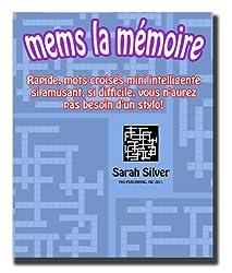 Mems la Mémoire ; Rapide, mots croisés mini intelligente si amusant, si difficile, vous n'aurez pas besoin d'un stylo!