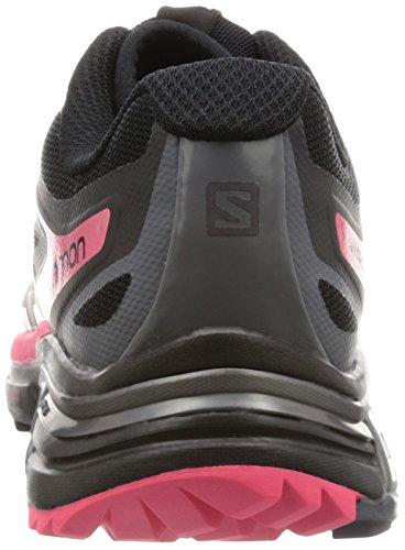 Salomon Damen Wings Pro 2 Laufschuhe Schwarz (Black/Dark Cloud/Madder Pink)