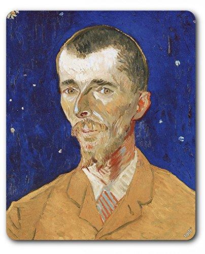 Preisvergleich Produktbild 1art1 88964 Vincent Van Gogh - Bildnis Des Belgischen Dichters Eugène Boch, 1888 Mauspad 23 x 19 cm