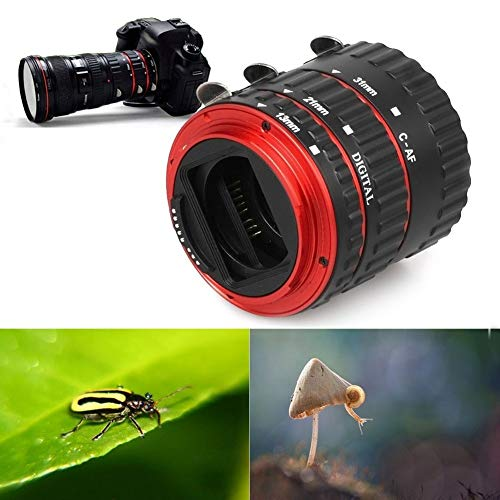 Danping Auto Focus Makro Extension Tube Set für Canon EOS Digital SLR - Set bestehend aus DREI Makro Extension Tubes Digital Extension Tube Set