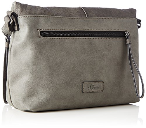 s.Oliver (Bags) - City Bag, Borse a tracolla Donna Grigio (Middle Grey)