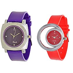 A&A CORP Ladies Analog Combo Pack For Woman and Girl Watch