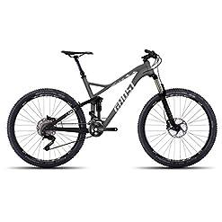Ghost slamr 5Gray/Black/White–Fully–Mountain bike–Carbon quadro taglia S
