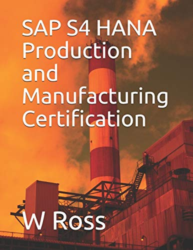 SAP S4 HANA Production and Manufacturing Certification