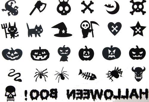 (2012 spätestens neues Design heißer Verkauf Männliche und weibliche Tätowierung wasserdichte Halloween skull Kürbis Tattoo-Aufkleber)