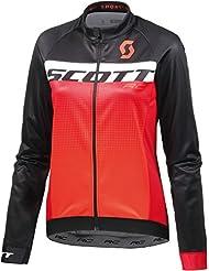 Scott RC AS WP Winter Fahrrad Trikot schwarz/orange 2018