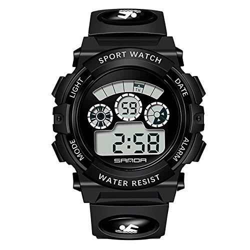 Huige impermeabile elettronico multi-funzione step counter all'aperto sport nuoto studenti pedometro moda orologi elettronici sport watch