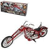 New Ray Custom Bike Rot 1/12 Motorradmodelle Motorrad Modell