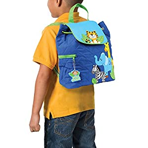 Stephen Joseph Quilted Backpack, Zoo from Stephen Joseph Children's Apparel