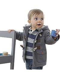 ARAUS-Manteau Bébé Enfant Garçon Hiver Manteau Duffel-coat Hiver pour Bébé Garçon Fille à Capuche Blouson Epaisse Chaud Hoodies