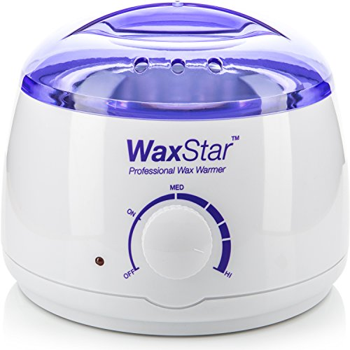 Price comparison product image WaxStar™ Professional Electric Wax Warmer and Heater for Soft, Paraffin, Warm, Crème and Strip Wax | Wax Melter for Hair Removal with Adjustable Temperature for Salon Quality Results