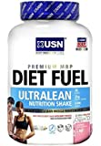 USN Diet Fuel Ultralean Weight Control Meal Replacement Shake Powder, Strawberry - 2 kg