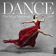 Dance: The Art of Movement 2019 Wall Calendar