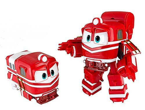 eileen Animation Characters ALF Toy, Kids, Child, Korean Animation Robot Train Transformer Train...