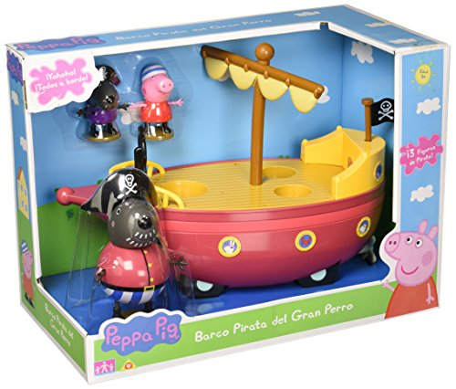 Peppa Pig - Grandfather's Pirate Ship (Bandai 06151)