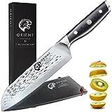 Santoku Messer aus Japanischem AUS-8 Edelstahl - Länge 18 cm