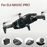 QHJ Tasche Case für DJI MAVIC Air Drohne, Wasserdichte Portable Tragetasche Hülle Hartschalen Koffer für DJI MAVIC Air Drohne (Schwarz)