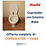 WC Bidet 320Komplett-Vase in Keramik A pavimento-perfetta Kompatibilität.