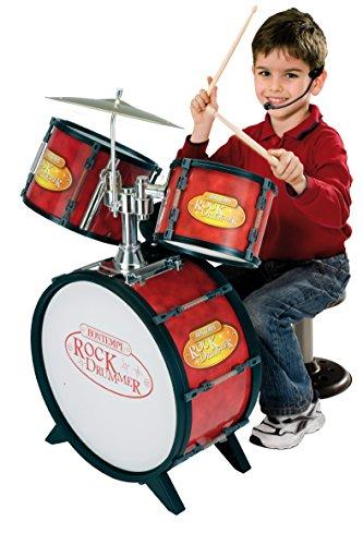 Preisvergleich Produktbild Bontempi–526800–Musikinstrument–Akku Riesige 3Trommeln + Pflanzstab Elektronische