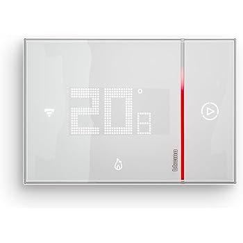 BTicino Smarther SX8000W Termostato Connesso da Muro con Wi-Fi Integrato, Bianco