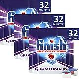 Finish Quantum Max Détergent Lave-Vaisselle 32 Tablettes - Lot de 3