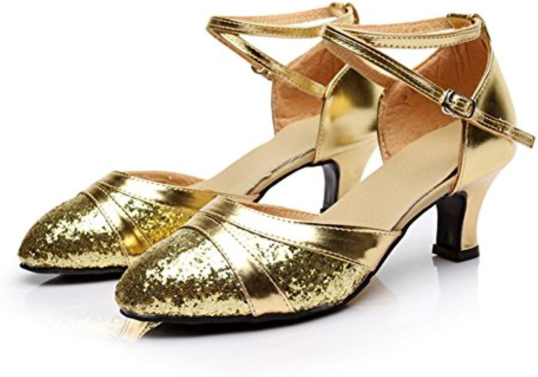 31fe278c5271 WYMNAME Womens Latin Dance Shoes