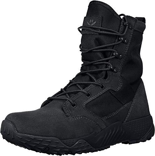 Under Armour UA Jungle Rat, Zapatos de Low Rise Senderismo para Hombre, Negro Black 001, 44 EU