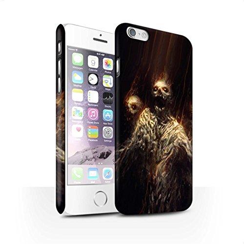 Offiziell Chris Cold Hülle / Matte Snap-On Case für Apple iPhone 6 / Gevatter Tod Muster / Dämonisches Tier Kollektion Ghouls der Furcht