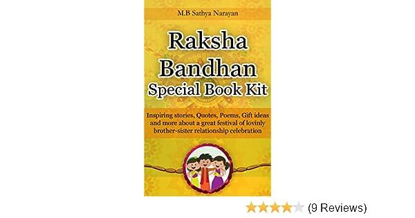 Raksha Bandhan Festival Special Book Kit Inspiring Stories Quotes
