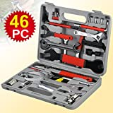Best Bicycle Tool Kits - chinkyboo 46pcs Multifunctional Mountain Bike Bicycle Cycle Maintenance Review