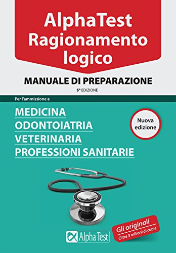 Libro alpha test professioni sanitarie kit completo di for Simulazione medicina