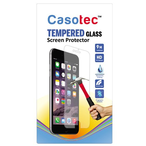 Casotec Tempered Glass Screen Protector for Lava Iris X1 Selfie