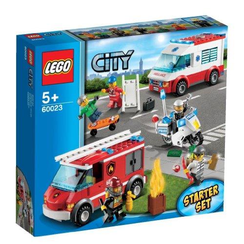 LEGO City 60023 - Starter-Set (Lego Krankenwagen Set)