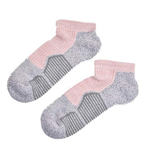 Evenlyao Professionelle Sport Socken Für Damen,Women's Professional Sport Socks,Socken Größe 9-10 Amerikanische Damenschuhe Größe 6-9.5 - Gepolsterte Womens Athletische Socken