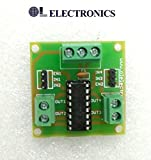#10: OL ELECTRONICS L293D IC BASED MOTOR DRIVER MODULE compatible with Arduino and other MCU