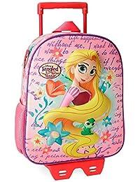 ca15c2be94 Disney Rapunzel Zainetto per bambini, 33 cm, 9.8 liters, Multicolore  (Multicolor)