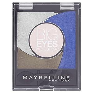 Maybelline Eye Studio Big Eyes 04 Luminous Blue - eye shadows (Women, Blue, Luminous Blue, Matte, Shimmer, Powder)