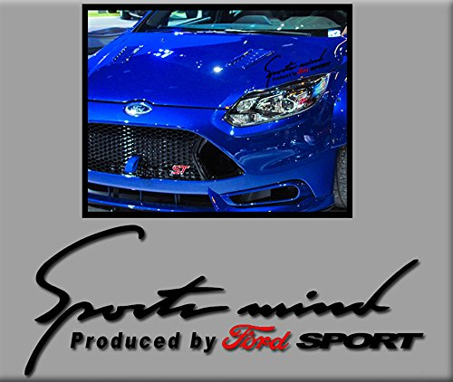 3 Sticker Sportsmind Ford R246 Stickers Aufkleber Decals Autocollants Adesivi, schwarz ()