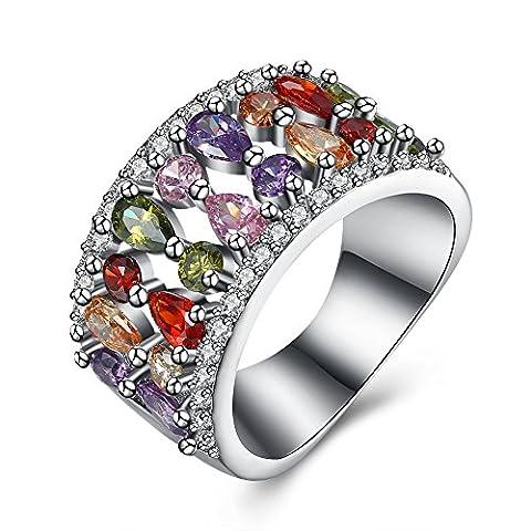 Luminous Fashion Popular Ring ,Multi-color,8
