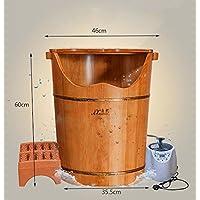 XWQ Piede Barrel / Oak pediluvio / piede di vapore Botti benna / fumigazioni / vapore Foot Tub / riscaldamento più alta schiuma benna / Salute Footbath