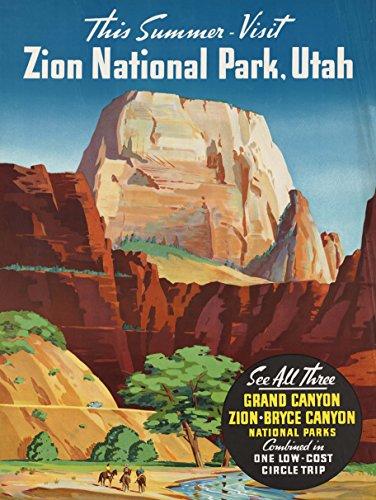 TRAVEL SUMMER GRAND CANYON NORTH RIM BRYCE ZION NATIONAL PARK UTAH 30X40 CMS FINE ART PRINT ART POSTER BB9809