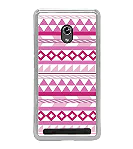 FUSON Tribal Ethnic Textile Decorative Designer Back Case Cover for Asus Zenfone 6 A600CG