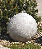 Kugelbrunnen (S207009) Wasserspiel Springbrunnen Skulptur Statue Steinguss 38 cm