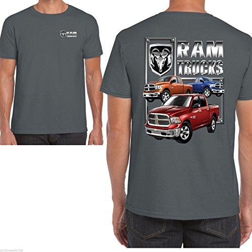 hotrod-58-dodge-ram-t-shirt-uomo-grey-large